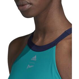 adidas BW Parley Hero Bañadores Mujer, EQT green/legend ink